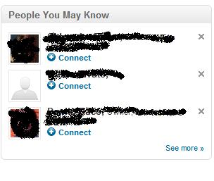 [Guida a LinkedIN] persone che potresti conoscere
