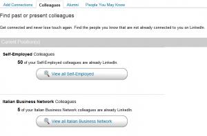 [Guida a LinkedIN] - Trovare (ex) colleghi e compagni di scuola