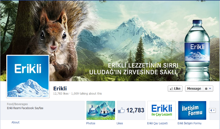 Erikli fan page is the best engager